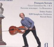 Didier Poskin: Servais: Cello Concerto 1&2, Fantaisie Burlesque, La Romanesca - CD