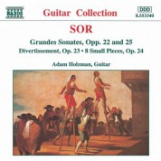 Adam Holzman: Sor: Grandes Sonates Opp. 22 & 25 - Divertissement, Op. 23 - CD