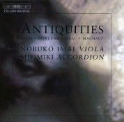 Nobuko Imai, Mie Miki: Antiquities - Music for viola and accordion - CD