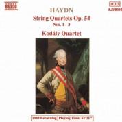 Haydn: String Quartets Op. 54, Nos. 1- 3 - CD