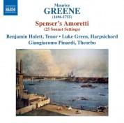 Benjamin Hulett: Greene: Spenser's Amoretti - CD
