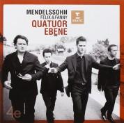 Quatuor Ebène: Felix And Fanny Mendelssohn: String Quartets - CD