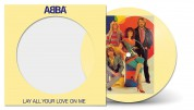 Abba: Lay All Your Love On Me (Limited Edition - Picture Disc) - Single Plak
