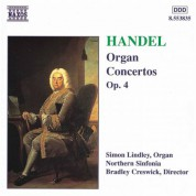 Simon Lindley: Handel: Organ Concertos, Op. 4, Nos. 1-6 - CD