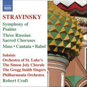 Robert Craft: Stravinsky: Mass - Cantata - Symphony of Psalms - CD