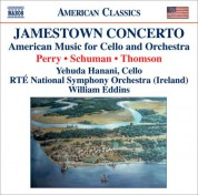 Yehuda Hanani: Perry, W.: Jamestown Concerto / Schuman, W.: A Song of Orpheus / Thomson, V.: Cello Concerto - CD