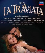Renato Bruson, James Conlon, Renée Fleming, Los Angeles Opera Chorus, Los Angeles Opera Orchestra, Rolando Villazón: Verdi: La Traviata - BluRay
