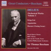 Delius: Orchestral Works, Vol.  3 (Beecham) (1928, 1938) - CD