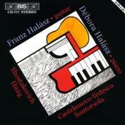 Franz Halász, Débora Halász: Shostakovich: Music for Guitar and Piano - CD