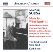 Keith Brion: Sousa: Music for Wind Band, Vol. 11 - CD