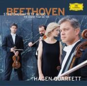 Hagen Quartett, Roberto Di Ronza: Beethoven/ Mozart/ Bach: Grosse Fuge/Quartett Op. 130 - CD