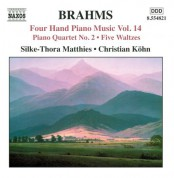Christian Kohn, Silke-Thora Matthies: Brahms: Four-Hand Piano Music, Vol. 14 - CD