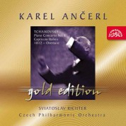 Czech Philharmonic Orchestra, Karel Ancerl: Tchaikovsky: Piano Concerto No:1, Capriccio Italie - CD