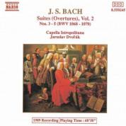 Bach, J.S.: Orchestral Suites Nos. 3-5, Bwv 1068-1070 - CD