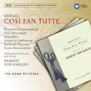 Elisabeth Schwarzkopf, Nan Merriman, Leopold Simoneau, Philharmonia Orchestra, Herbert von Karajan: Mozart: Cosi Fan Tutte - CD