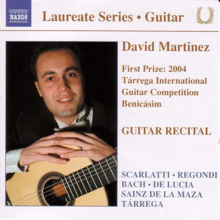 David Martinez: Guitar Recital: David Martinez - CD