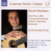 David Martinez: Guitar Recital: David Martinez - CD