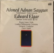 "Ruşen Güneş, Gürer Aykal, London Philharmonic Orchestra: Saygun, Elgar: Viola Concerto / Overture ""In The South"" - CD"