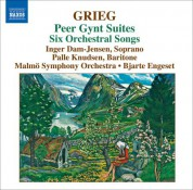 Bjarte Engeset: Grieg: Orchestral Music, Vol. 4: Peer Gynt Suites - Orchestral Songs - CD
