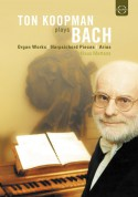 Ton Koopman Plays Bach - DVD