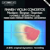 Hannele Segerstam, Finnish Radio Symphony Orchestra, Leif Segerstam: Finnish Violin Concertos - CD