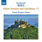 Susan Kagan: Ries: Piano Sonatas and Sonatinas, Vol. 3 - CD