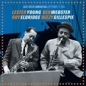 Lester Young: J.A.T.P Live At Carnegie Hall, September 17, 1955 - CD