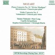Stephen Gunzenhauser: Mozart: Piano Concerto No. 21 / Violin Concerto No. 5 - CD