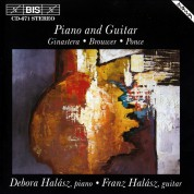 Débora Halász, Franz Halász: Latin-American music for Piano and Guitar - CD