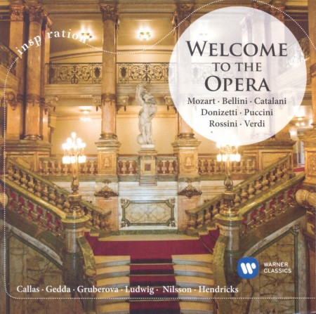 Çeşitli Sanatçılar: Welcome To The Opera - CD