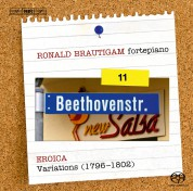 Ronald Brautigam: Beethoven: Complete Works for Solo Piano, Vol. 11 on forte-piano - SACD