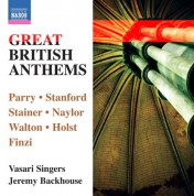 Vasari Singers: Great British Anthems - CD