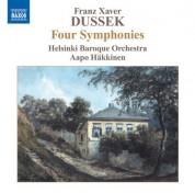 Aapo Häkkinen, Helsinki Baroque Orchestra: Dussek: 4 Symphonies - CD