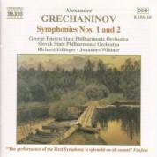Grechaninov: Symphonies Nos. 1 and 2 - CD