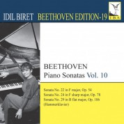 İdil Biret: Beethoven: Piano Sonatas, Vol. 10 - CD