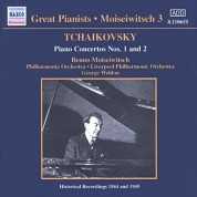 Tchaikovsky: Piano Concertos Nos. 1 and 2 (Moiseiwitsch, Vol. 3) (1944-1945) - CD