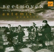 Artemis Quartet: Beethoven: String Quartets No: 7, 11 - CD