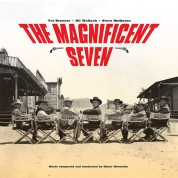 Elmer Bernstein: OST - The Magnificent Seven Soundtrack - Limited Edition In Solid Yellow Colored Vinyl. - Plak