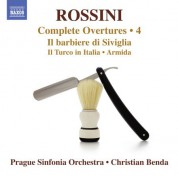 Christian Benda, Prague Sinfonia: Rossini: Complete Overtures, Vol. 4 - CD