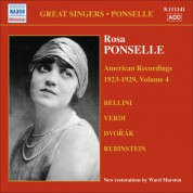 Ponselle, Rosa: American Recordings, Vol. 4 (1923-1929) - CD
