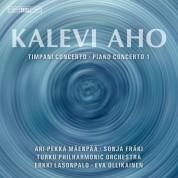 Sonja Fräki, Ari-Pekka Mäenpää, Turku Philharmonic Orchestra, Eva Ollikainen, Erkki Lasonpalo: Kalevi Aho - Timpani & Piano Concertos - SACD