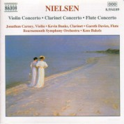 Nielsen, C.: Violin Concerto / Clarinet Concerto / Flute Concerto - CD