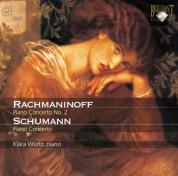 Klára Würtz: Rachmaninov, Schumann: Piano Concertos - CD