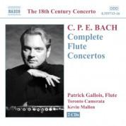 Patrick Gallois: Bach, C.P.E.: Flute Concertos (Complete) - CD