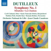Orchestra National de Lille, Jean-Claude Casadesus: Dutilleux: Symphony No. 1 - CD