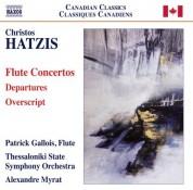 Patrick Gallois: Hatzis: Departures - Overscript - CD