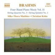 Christian Kohn, Silke-Thora Matthies: Brahms: Four-Hand Piano Music, Vol. 11 - CD