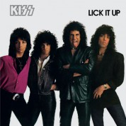 Kiss: Lick it Up - Plak