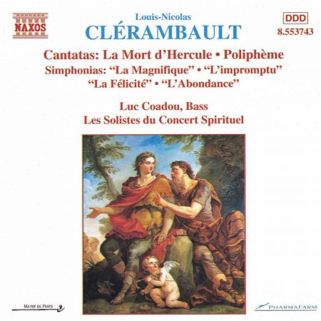 Clerambault: Cantatas and Simphonias - CD