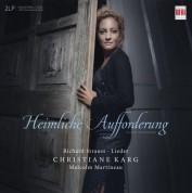 Christiane Karg, Malcolm Martineau: R. Strauss: Lieder; Heimliche Aufforderung, Secret Invitation VINYL - Plak